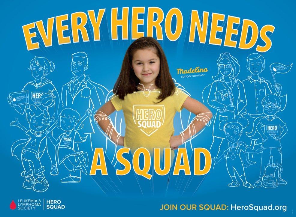 The Leukemia & Lymphoma Society Hero Squad